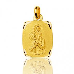 Médaille Saint Christophe Or Jaune 1.15g Audrey - 660083