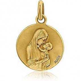 M�daille vierge Augis Or Jaune Rosemary 3500022200