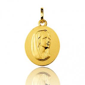 Médaille vierge  Or Jaune  Aurore