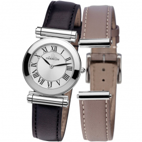 Montre Herbelin Antares - bracelet Cuir - COF.17443/01NT