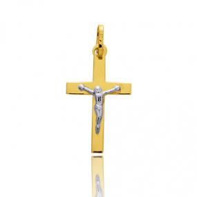 Pendentif Croix Christ 2 Ors Agatha