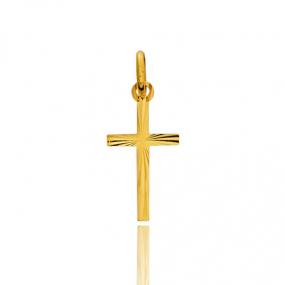 Pendentif croix Or Jaune Inna