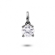 Pendentif diamant Or Blanc 0.20 ct ct Agathe