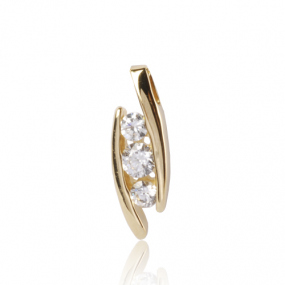 Pendentif diamant Or Jaune 0.5 ct ct Katerina
