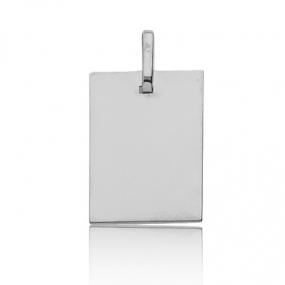 Pendentif Or Blanc 1.25 g Asha