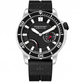 Pequignet Royale 300 Automatique Cadran Noir - 9050443/30