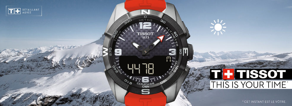 Montre Tissot Touch collection