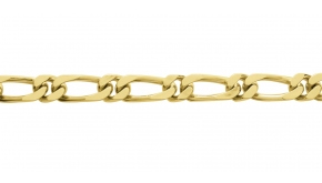 Bracelet en or maille Alternée