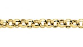 Bracelet en or maille Jaseron