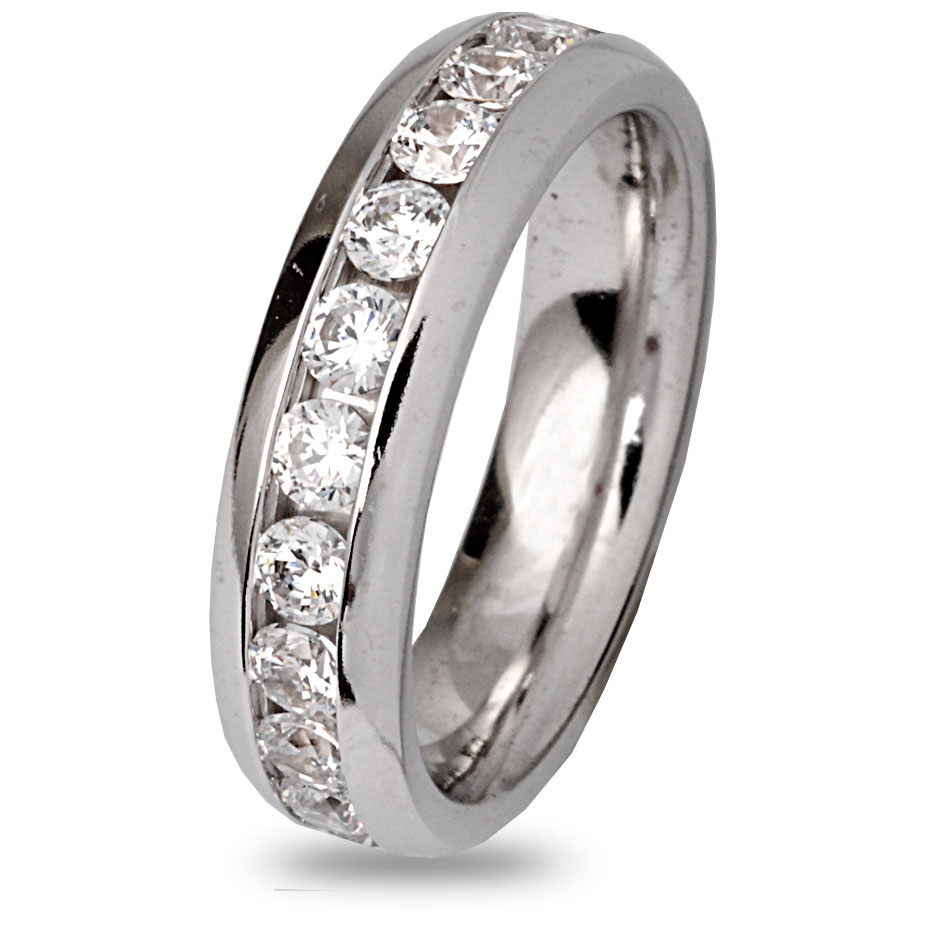 alliance diamant 2 ct bague de mariage 7bnk200wd. Black Bedroom Furniture Sets. Home Design Ideas