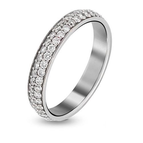 bague femme or blanc diamant ct 158212 oxanna. Black Bedroom Furniture Sets. Home Design Ideas