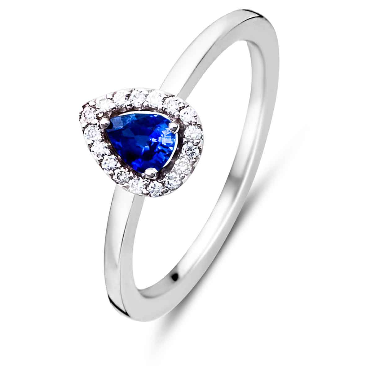 bague solitaire saphir bleu cool costume jewelry for you. Black Bedroom Furniture Sets. Home Design Ideas