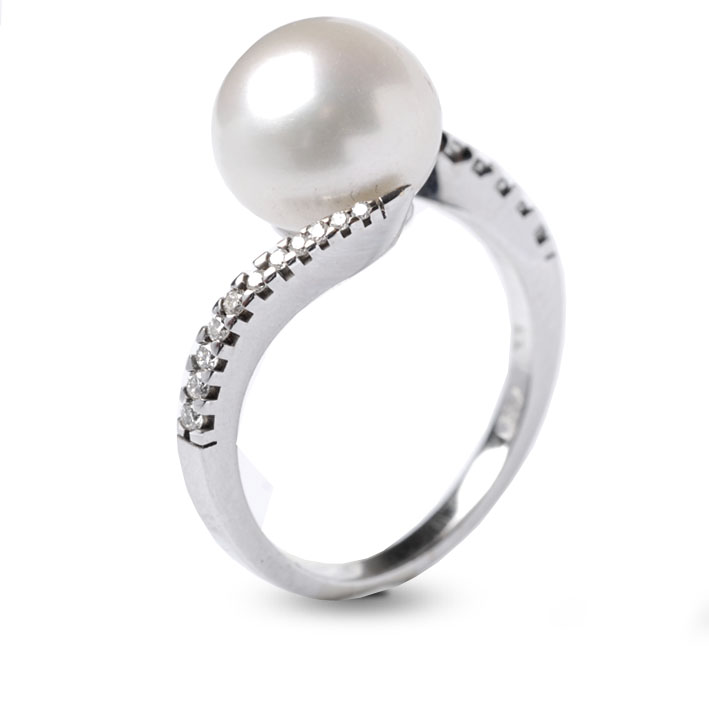 les dernières nouveautés la qualité d'abord magasin en ligne bague perle de culture blanche