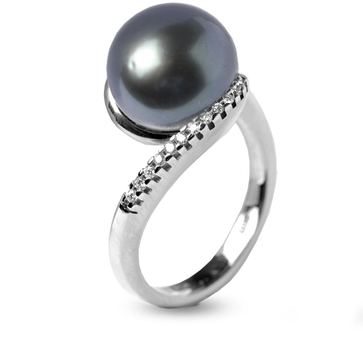 bague perle tahiti pas cher