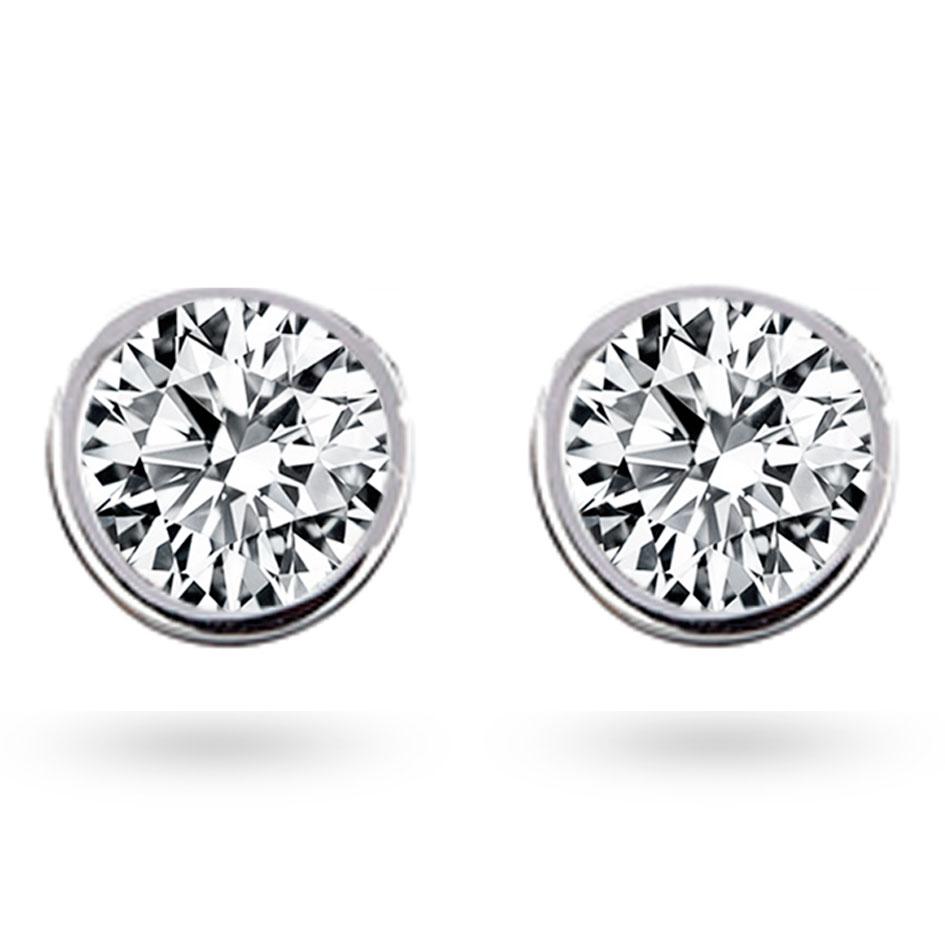 boucle d oreille diamant 1 ct coralyne e2631fmpway02. Black Bedroom Furniture Sets. Home Design Ideas