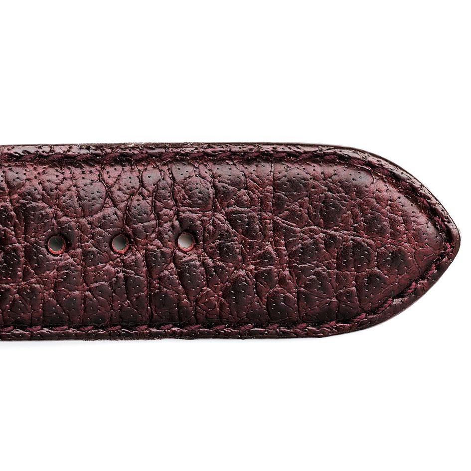 bracelet montre cuir de buffle bordeaux 15619 08 alixe. Black Bedroom Furniture Sets. Home Design Ideas