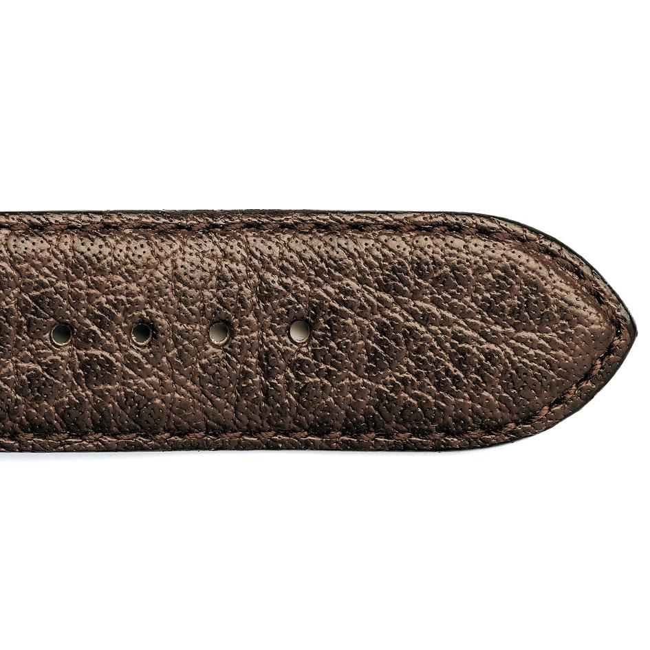 bracelet montre cuir de buffle marron 15619 03 mayla. Black Bedroom Furniture Sets. Home Design Ideas