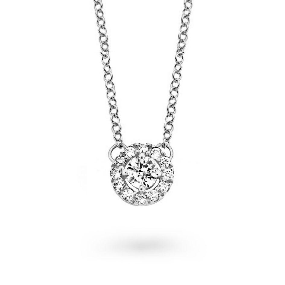 pendentif diamant 0.25