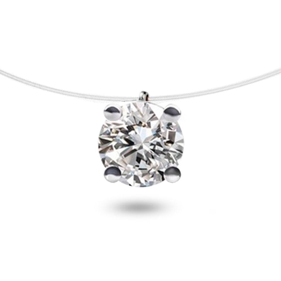 collier diamant nylon ct myra. Black Bedroom Furniture Sets. Home Design Ideas