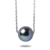Collier Perle De Tahiti En Or Blanc Erina 27458bl