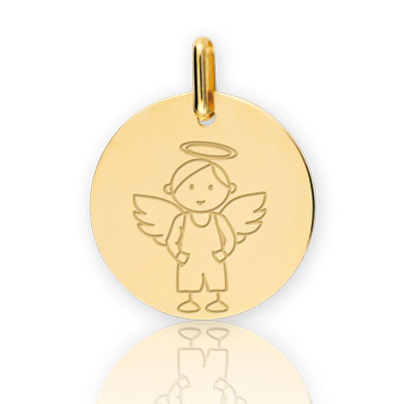 Fabuleux Médaille bapteme - Collection Ange - Titaina - XM1036 TC78
