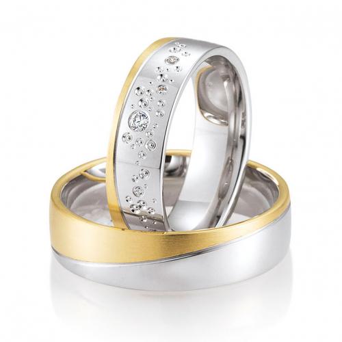 Alliance De Mariage Diamant Originale Mettez De La