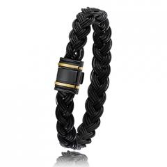 - Bracelet en Poils d'éléphant or PVD 0.45g - 13 mm Passion - 698NTELORjaune