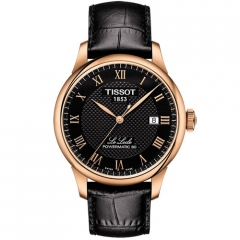 Le Locle PVD rose  39 mm Homme - T006.407.36.053.00