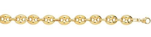 Les diff rentes mailles pour une chaine en or - Chaine graine de cafe or homme ...