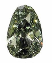 Le diamant Dresde Vert