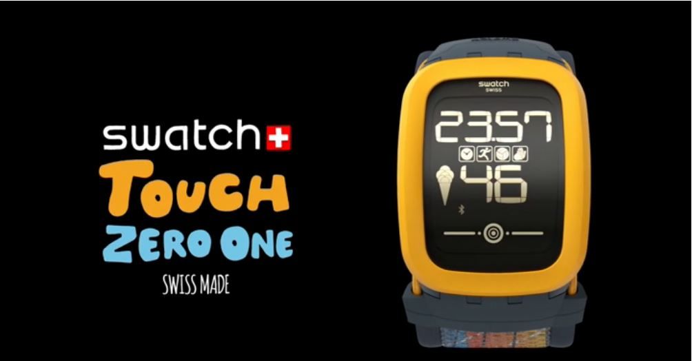 Swatch Touch Zero One - La montre connectée