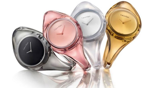 Montres Calvin Klein femme collection Pure