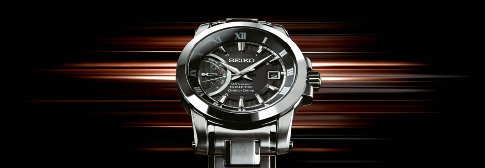 Montre Seiko Kinetic
