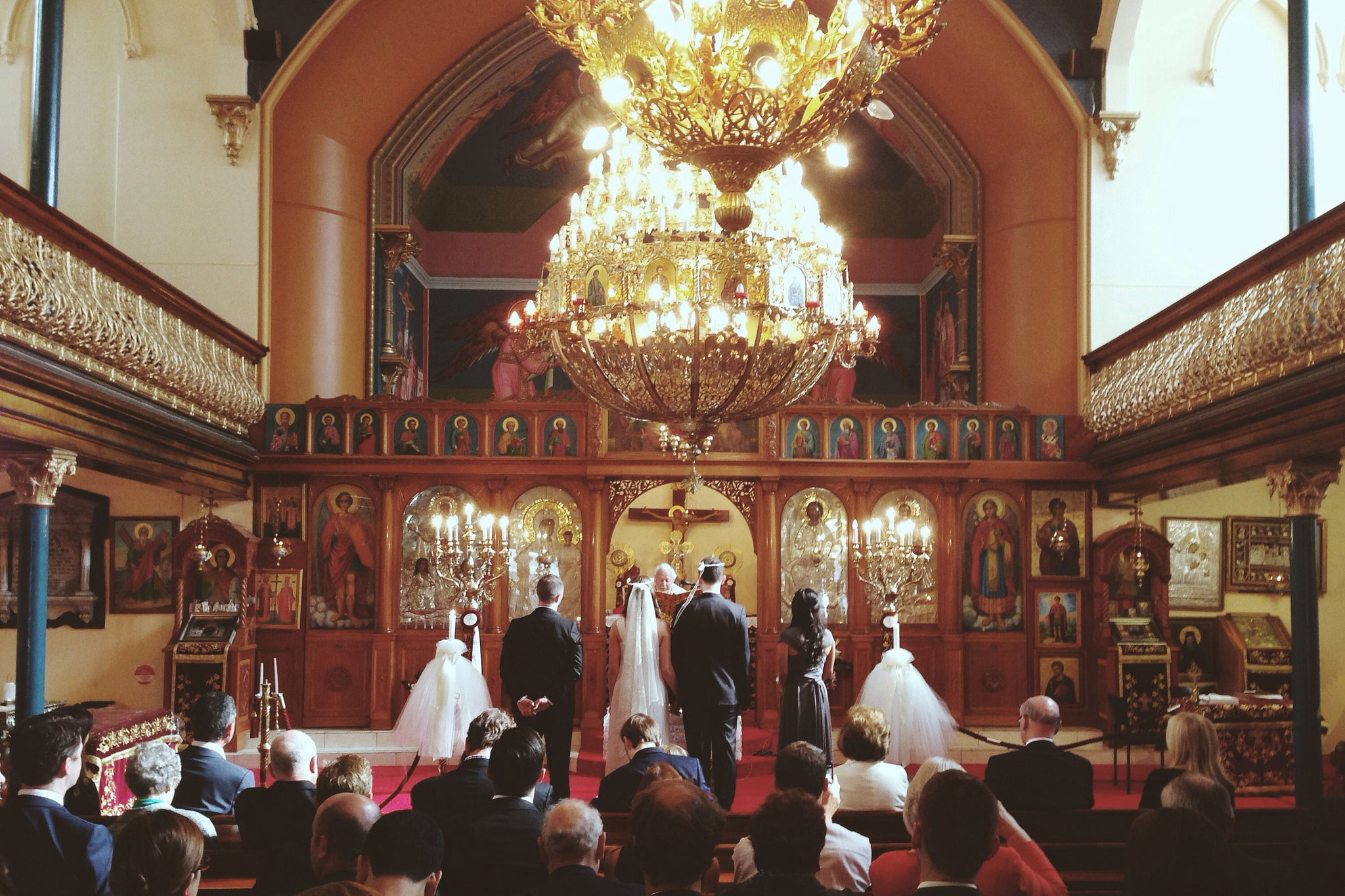 Photo d'un mariage Orthodoxe